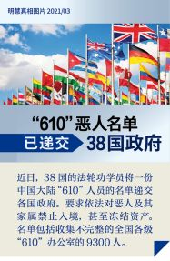 (2021年03月23日) 手机图片:610恶人名单被递交38国政府