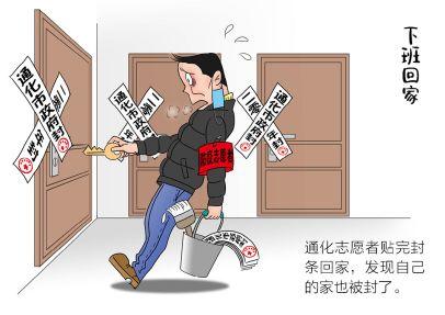 (2021年03月05日) 手机漫画:防疫乱象(二)